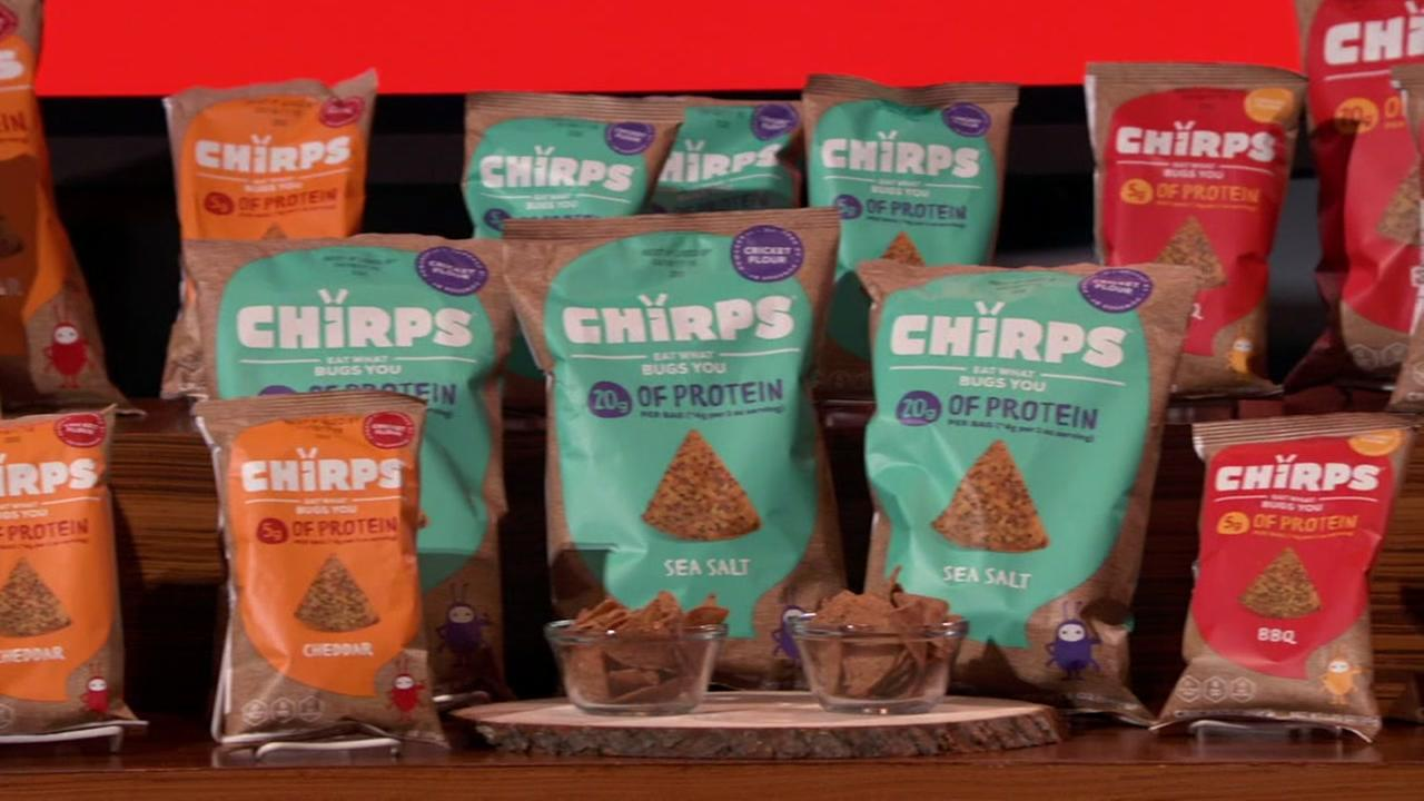 Chirp Chips are seen in this undated image.