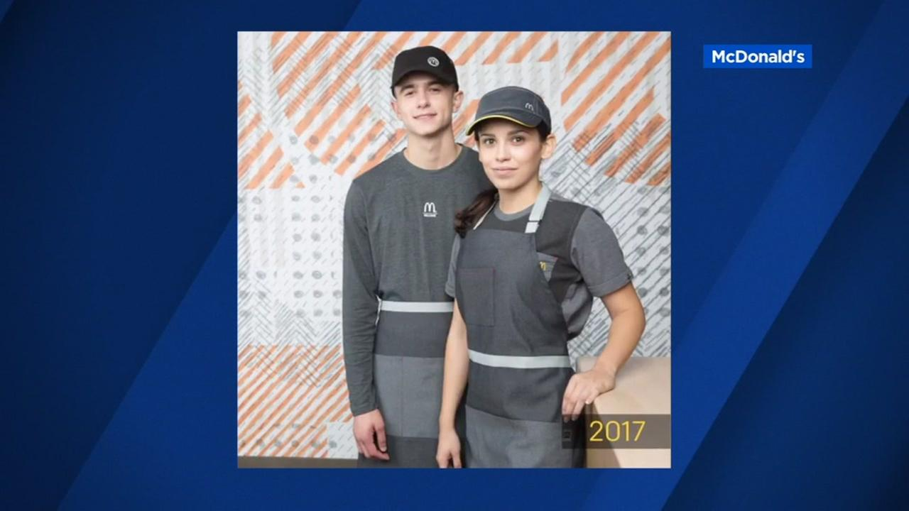 FILE -- McDonalds has unveiled new uniforms