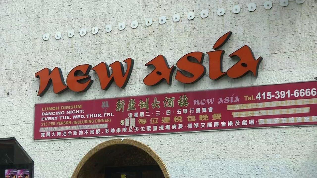 A popular restaurant named New Asia in San Francisco, Calif. is seen in this undated image.