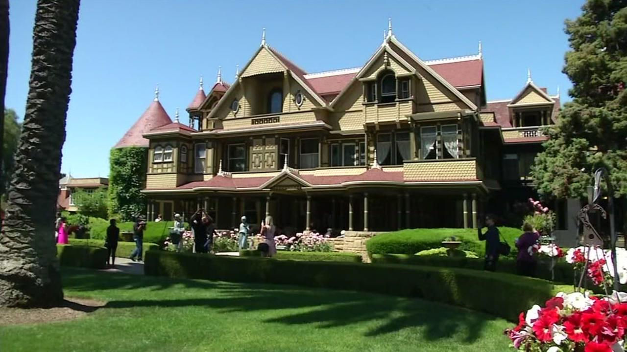 The Winchester Mystery House appears in San Jose, Calif. on May 5, 2017.