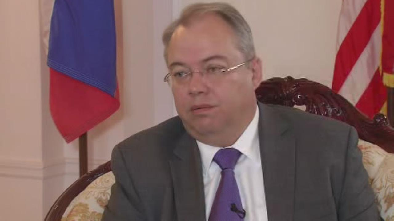 ABC7s Cheryl Jennings sat down with Sergey Petrov, the Consul General of the Russian Federation in San Francisco.