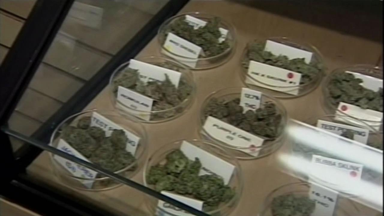Medical marijuana for sale.