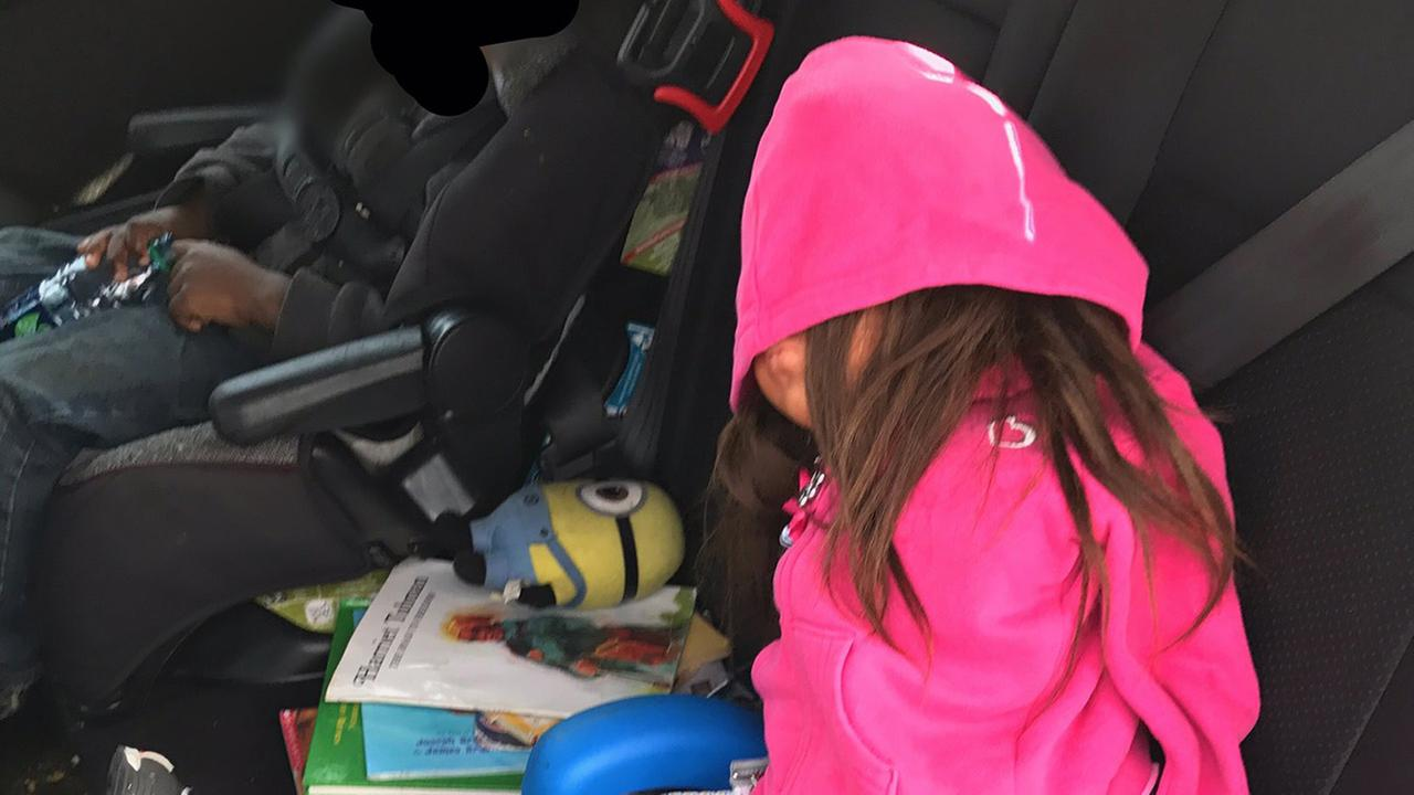 File -- CHP officers busted a person using a fake doll on I-80 in Oakland, California.