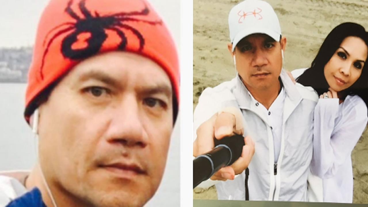 Piseth Chhay, a man who is believed to be missing in the San Francisco Bay Area appears in these undated images.