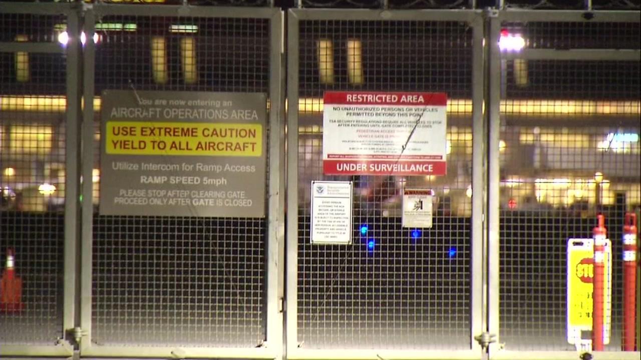 Gate at Mineta San Jose International Airport, Thursday, May 25, 2017.