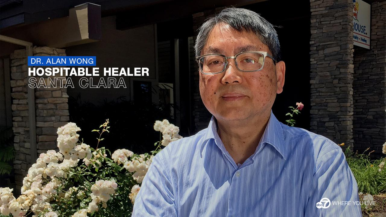 Dr. Alan Wong opened a welcoming home for families who need an extended-stay at local hospitals.