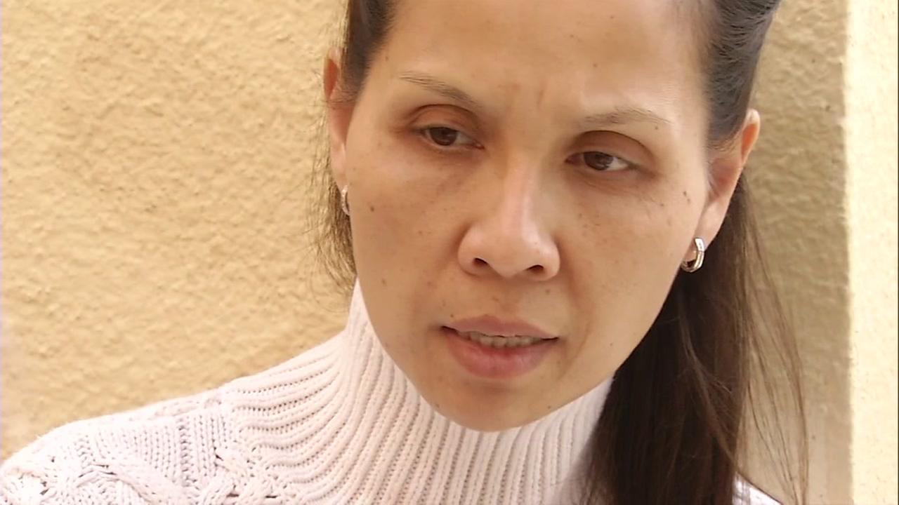 Rattana Kim, wife of missing San Francisco Uber driver Piseth Chhay speaks to ABC7 News on Thursday, May 25, 2017.