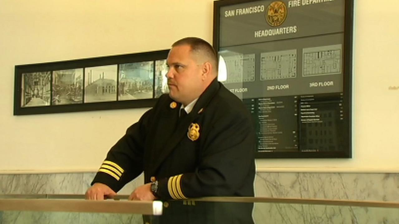 San Francisco Fire Department Assistant Chief David Franklin.