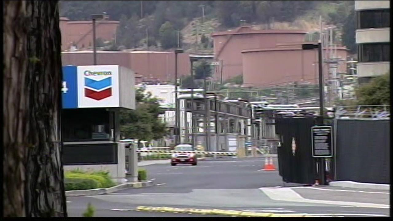Chevron refinery investigates source of hazardous material spill near Richmond refinery