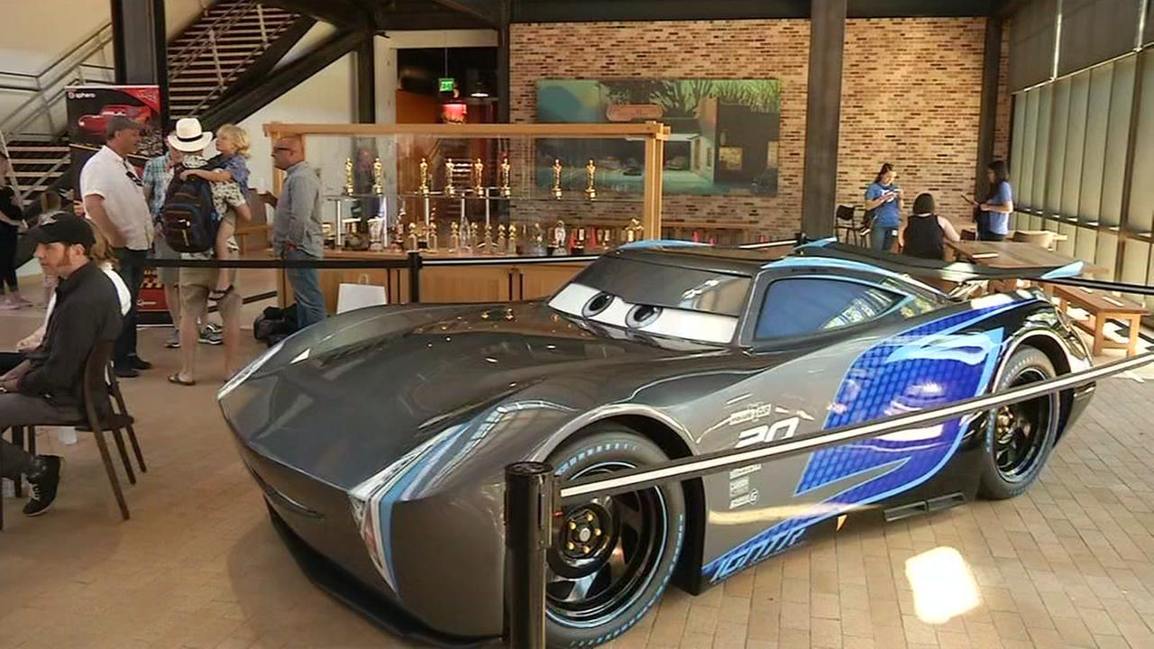 Characters In Cars: Characters From Pixar's 'Cars' Come To Life At Motorama