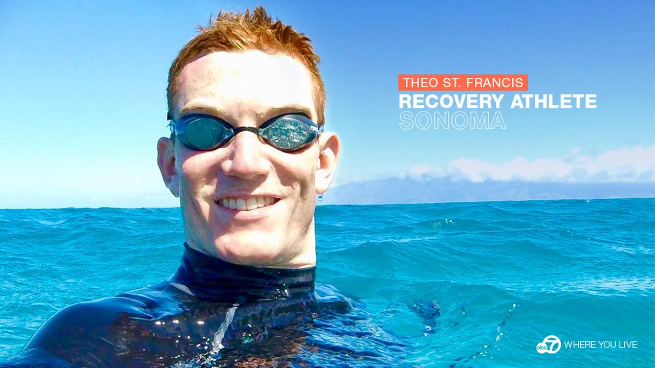 RECOVERY ATHLETE: Despite his mobility challenges, Theo St. Francis is charging ahead on a new mission…to give back.