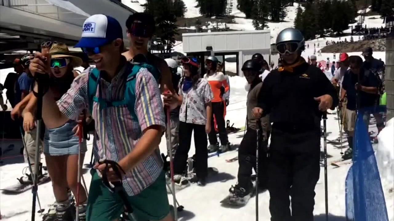 Squaw Valley Ski Resort, Monday, July 3, 2017.