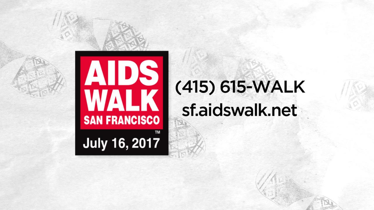 The annual AIDS Walk San Francisco takes place on Sunday, July 16, 2017.