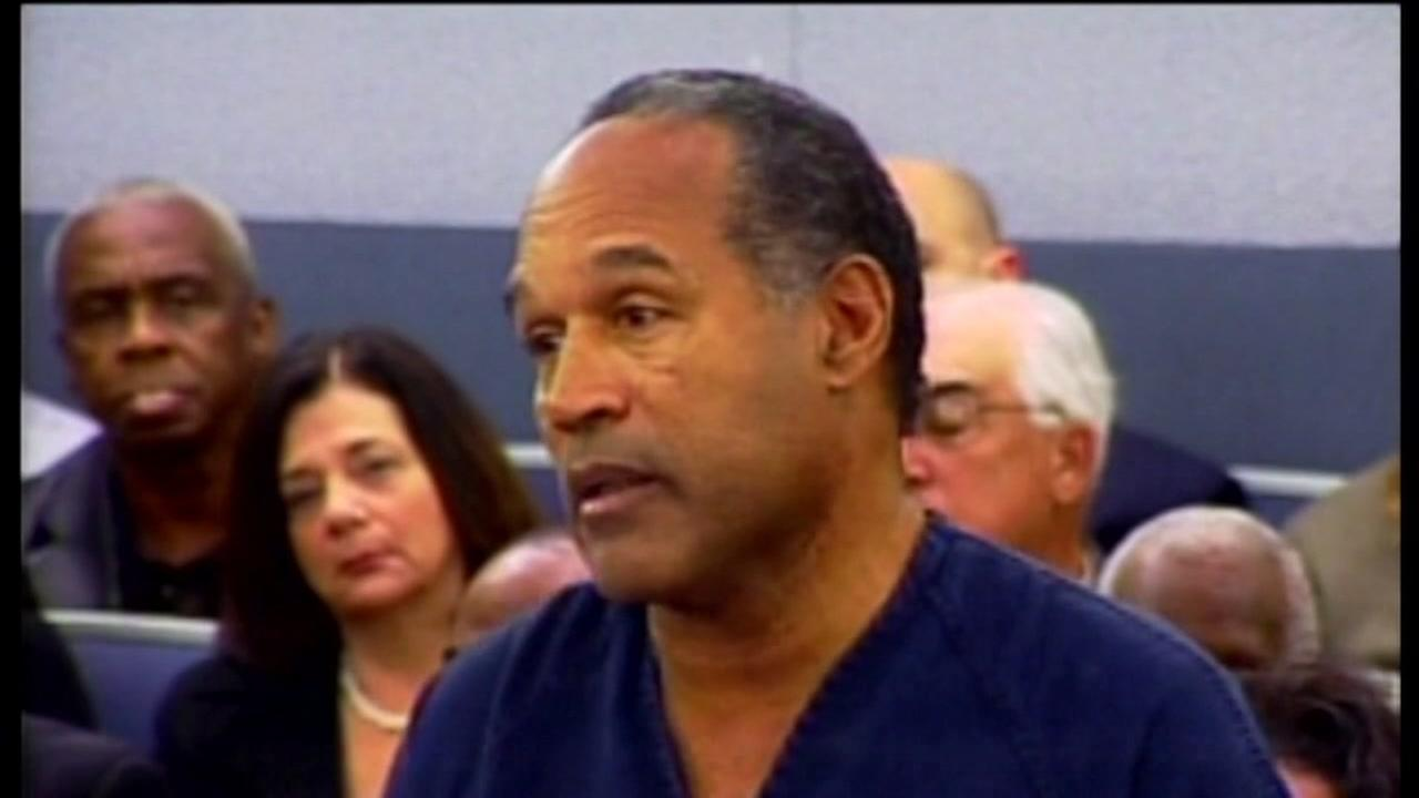 OJ Simpson parole hearing set for July 20th in Las Vegas