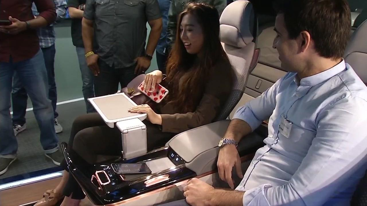 Yanfeng Automotive Interiors offered a sneak peek of the West Coast debut of its XiM, Experience in Motion demonstrator, in Sunnyvale, Calif. on Tuesday, July 18, 2017.