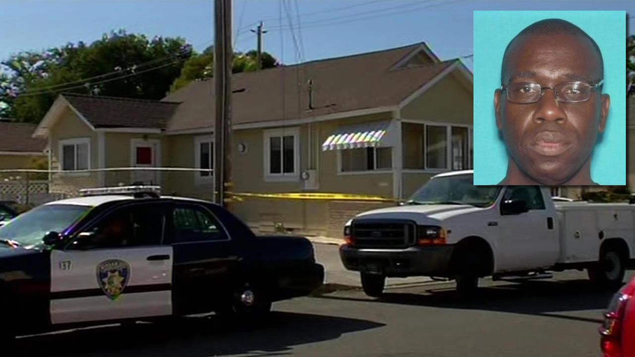 Parolee Darryl Wakefield, 43, arrested in connection with the stabbing death of a Vallejo mother, and the stabbing of her 5-year-old son.