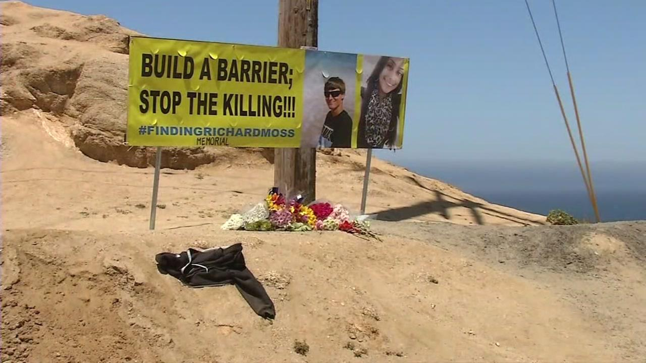 A sign urging San Mateo County officials to build barriers near Montara State Beach appears on Saturday, July 22, 2017.
