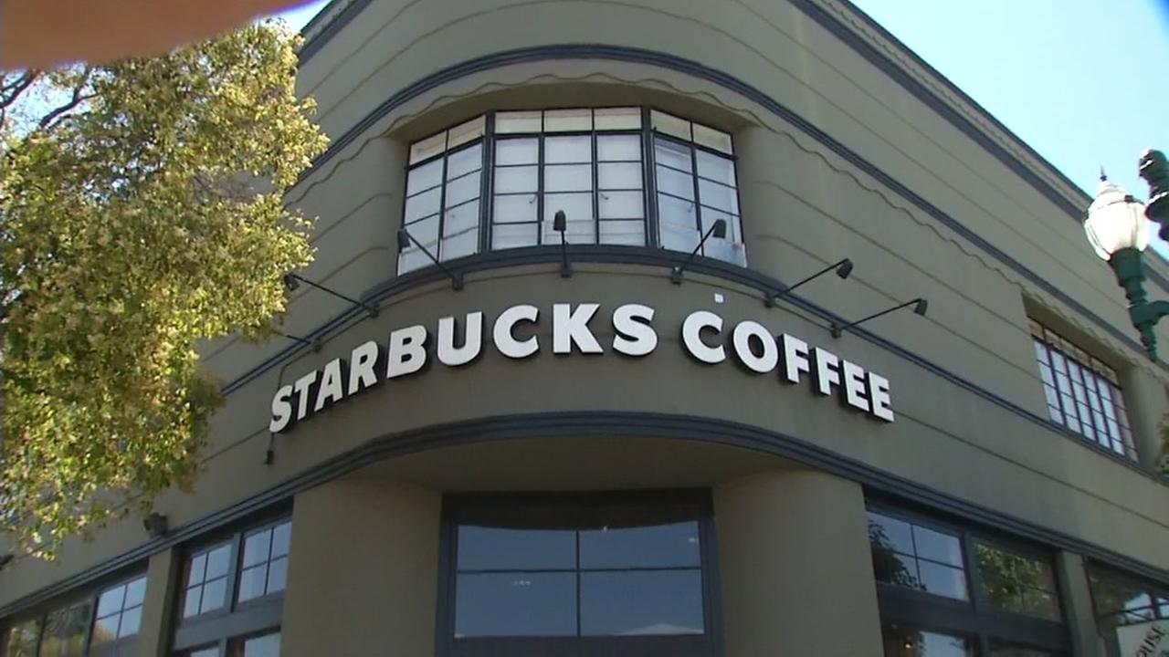A Starbucks is seen in Alameda, Calif. in this undated image.