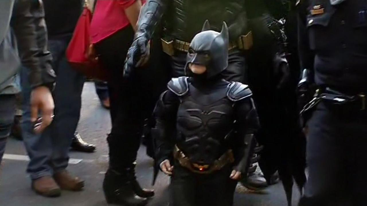 Miles Scott, also known as Batkid