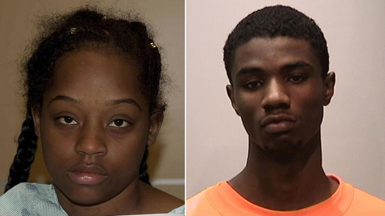 From left to right: 20-year-old Fantasy Decuir and 19-year-old Lamonte Mims have been charged with murder in the death of a man at San Franciscos Twin Peaks on July 16, 2017.