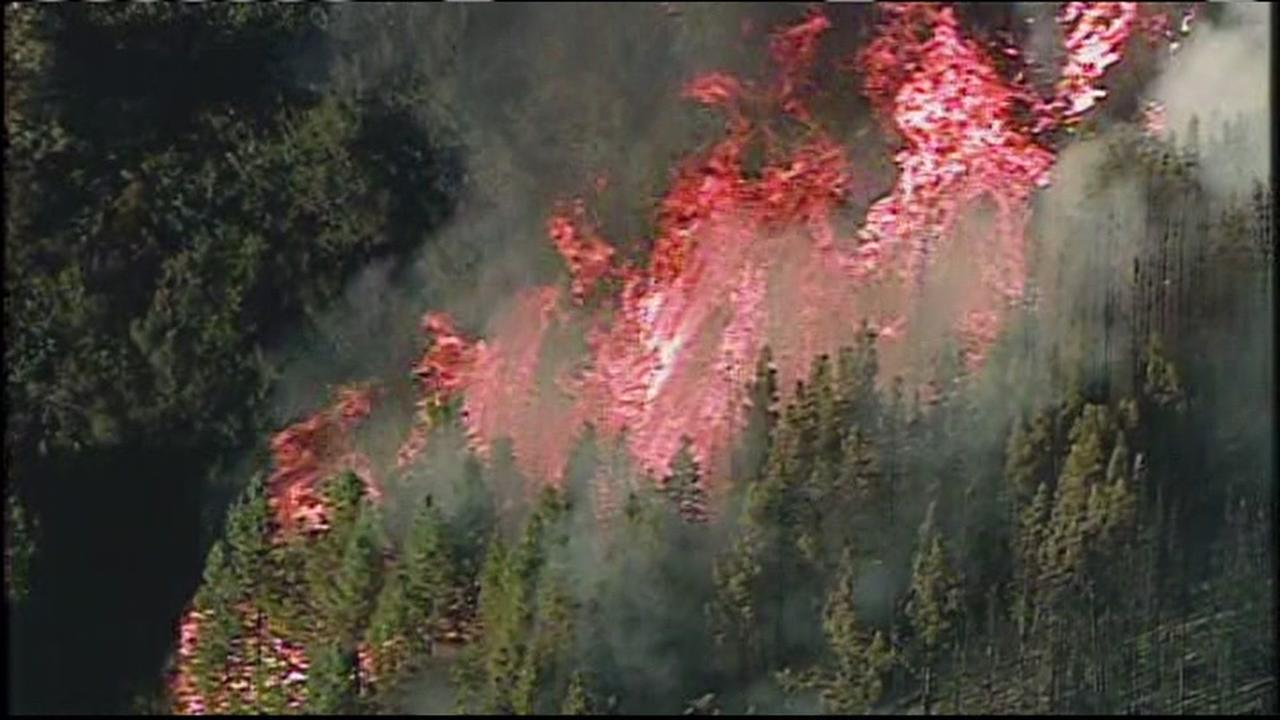 Investigators: Loma Fire sparked by portable generator used by marijuana growers
