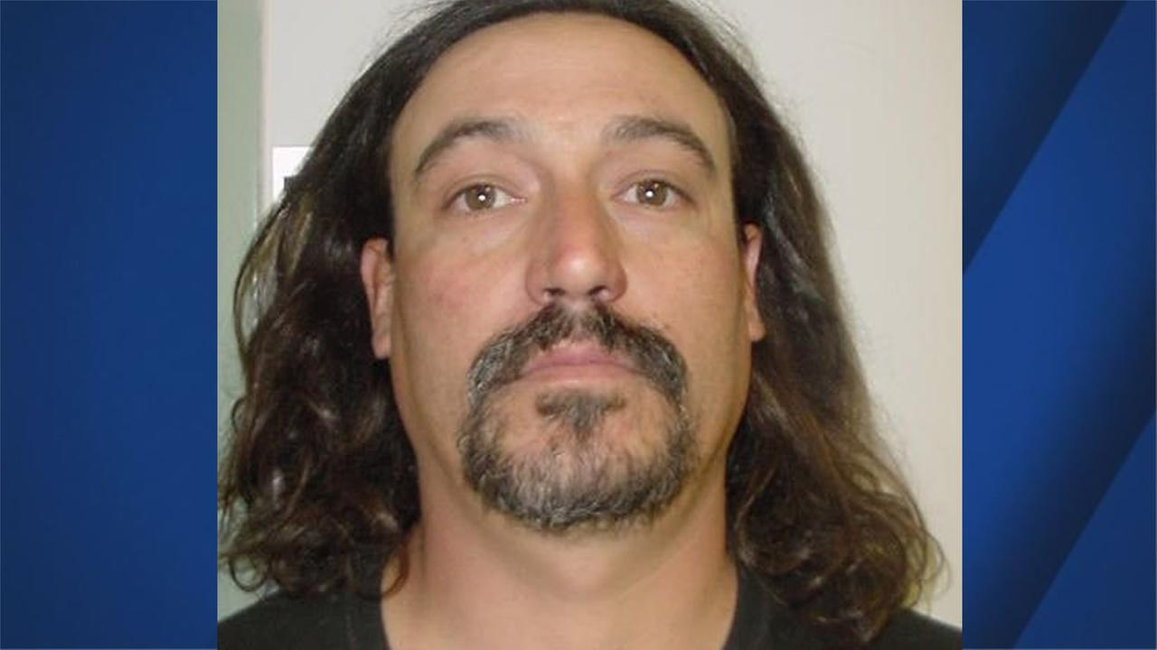 Joshua Caleb Brown, 43, of Kelseyville, Calif., is suspected of shooting at law enforcement officials on Monday, August 14, 2017.