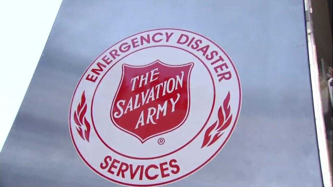 FILE -- Salvation Army sign