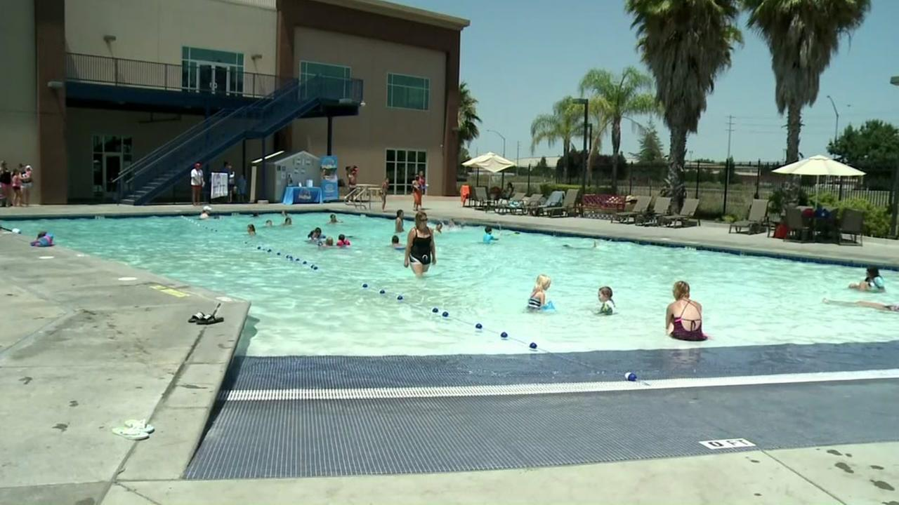 This undated image shows the water park in Antioch, Calif.