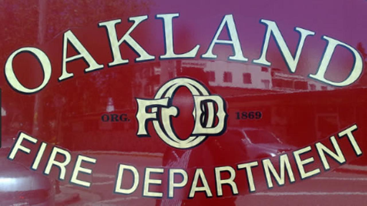 A logo of the Oakland Fire Department is seen in this undated image.