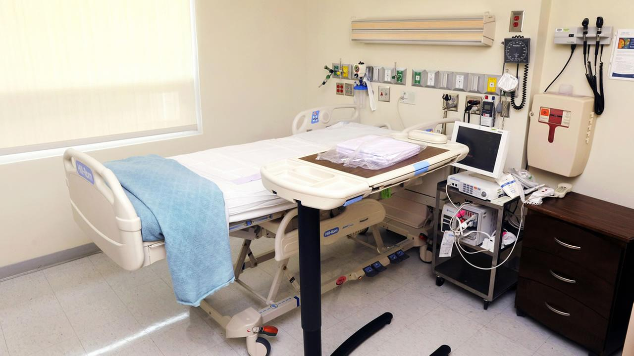 The isolation room at Emory University Hospital set up to treat patients exposed to certain infectious diseases.