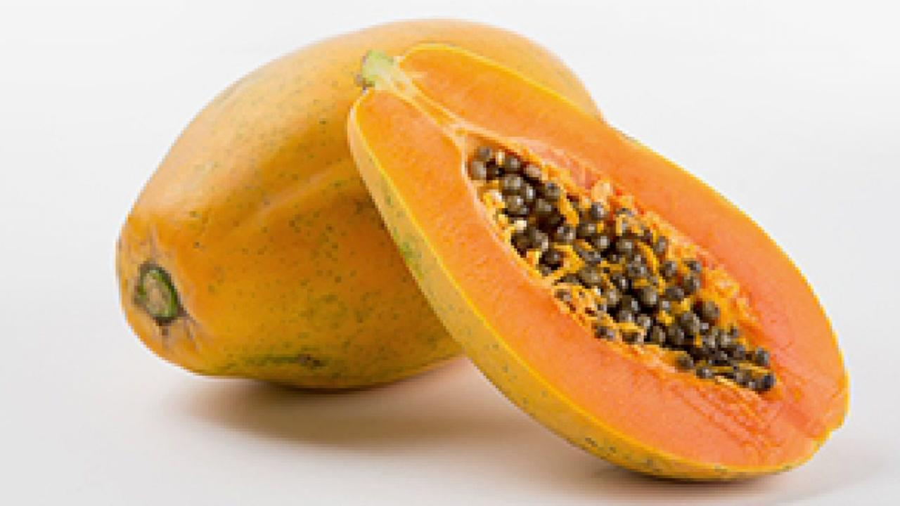 Papayas are seen in this undated image.