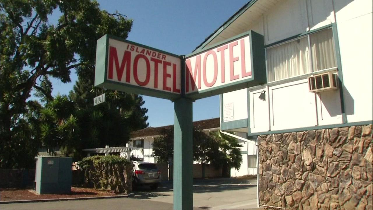 A hotel in Fremont, Calif. appears on Monday, Sept. 25, 2017.
