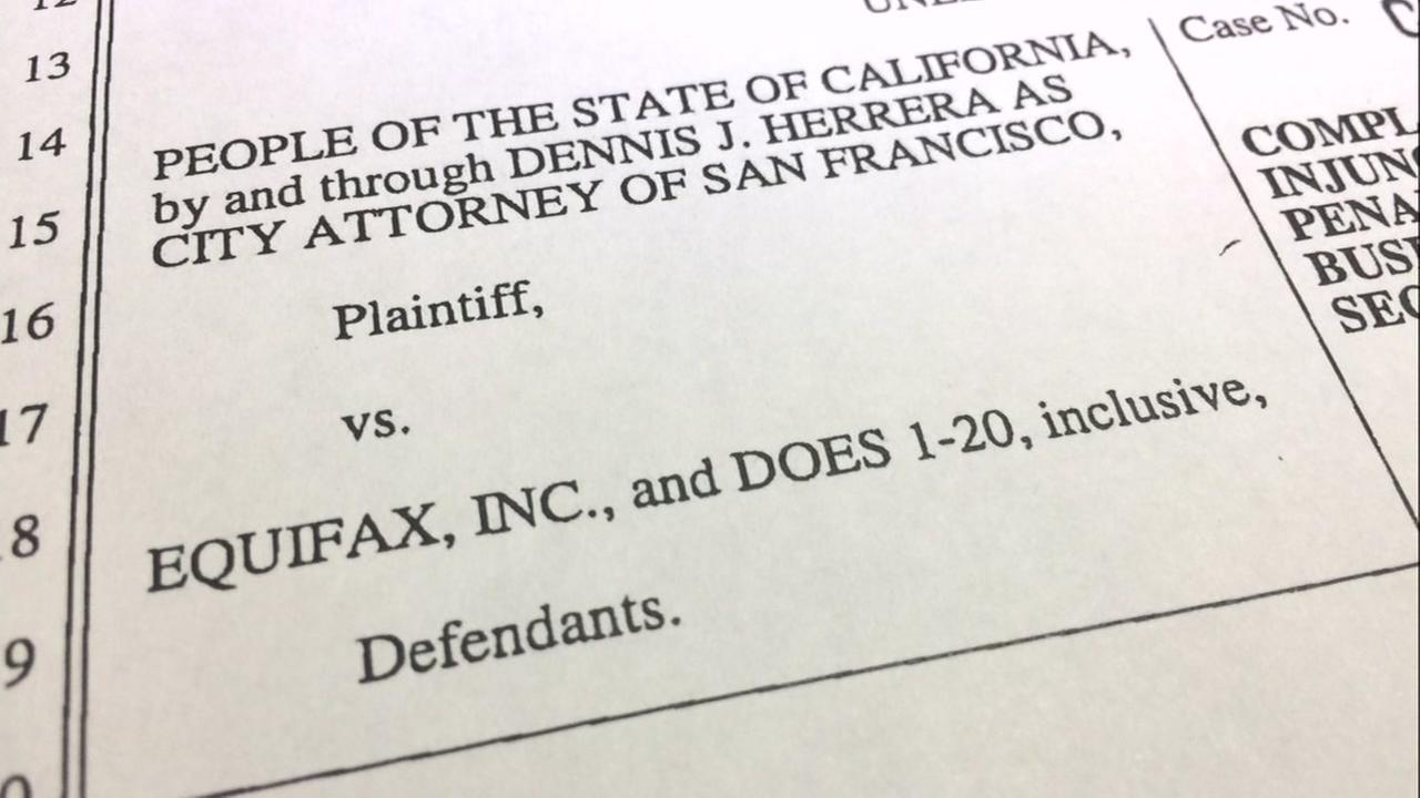 A lawsuit appears on Tuesday, Sept. 26, 2017.
