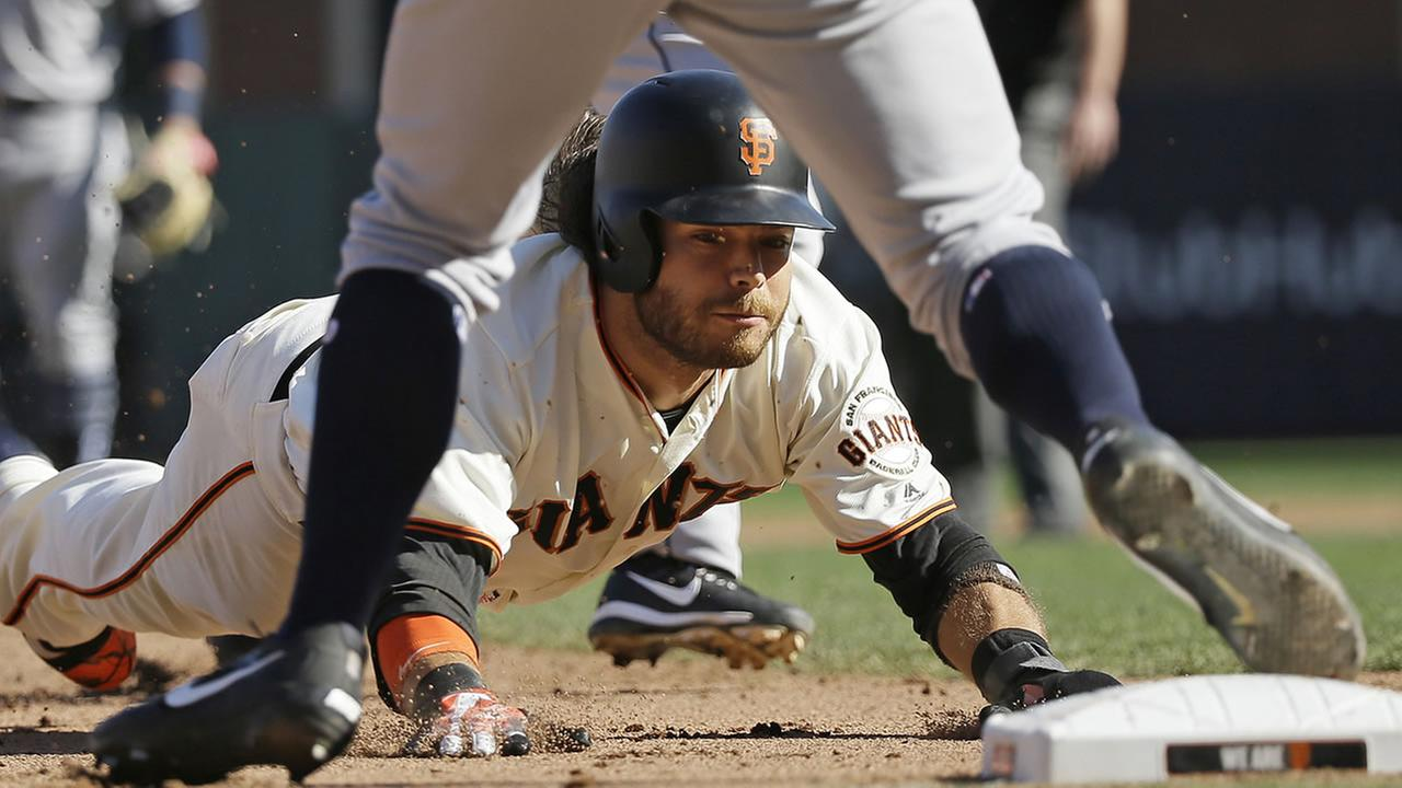 Giants face San Diego Padres in final game of the 2017 season
