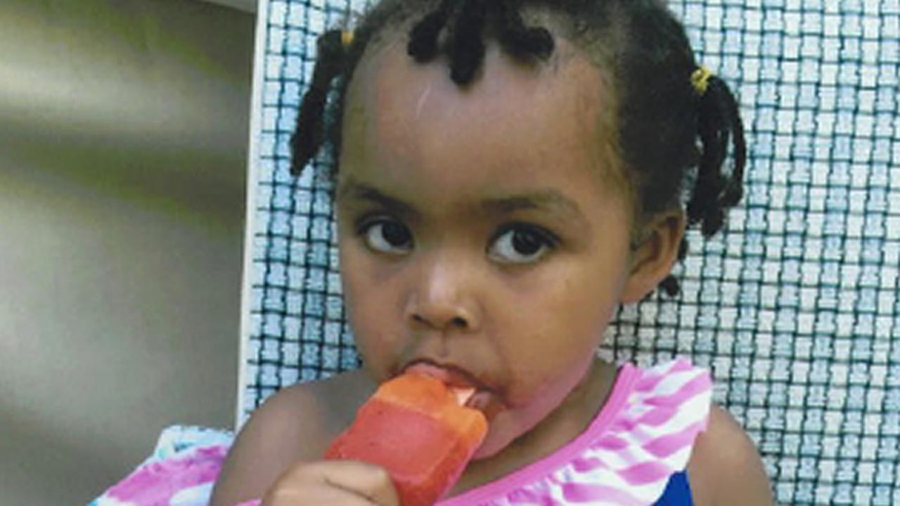 This undated image shows 3-year-old Mariah, who died in a Stockton, Calif. foster home in 2015 of alleged methamphetamine poisoning.