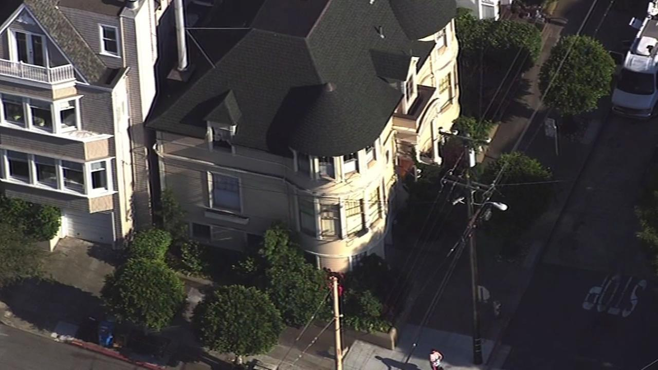 San Francisco house used in Mrs. Doubtfire