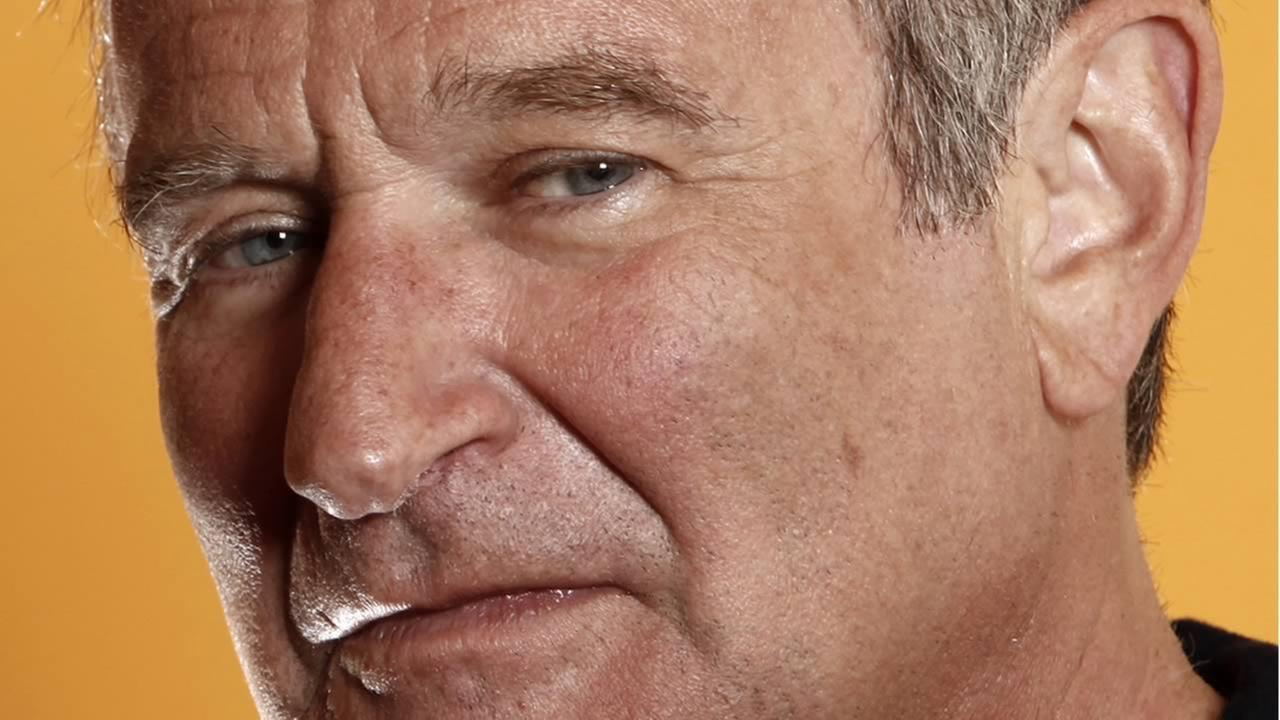 This Aug. 14, 2009 file photo shows actor Robin Williams in Los Angeles. (AP Photo/Matt Sayles, File)