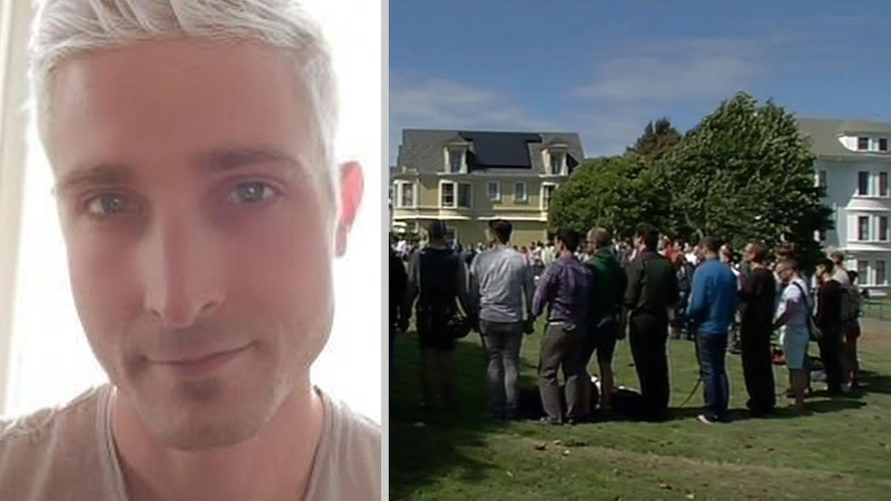 Bryan Higgins, 31, was taken off life support after he was found beaten and unconscious in San Francisco.