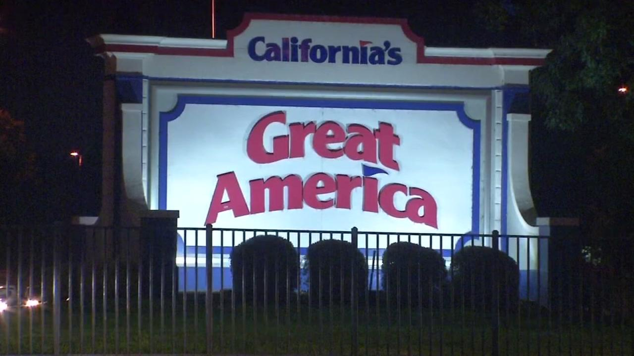 Great Americas entrance appears on Oct. 29, 2017 after fights were reported in Santa Clara.