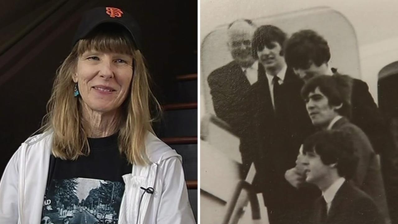 Beatles fan Mary Goodfellow.