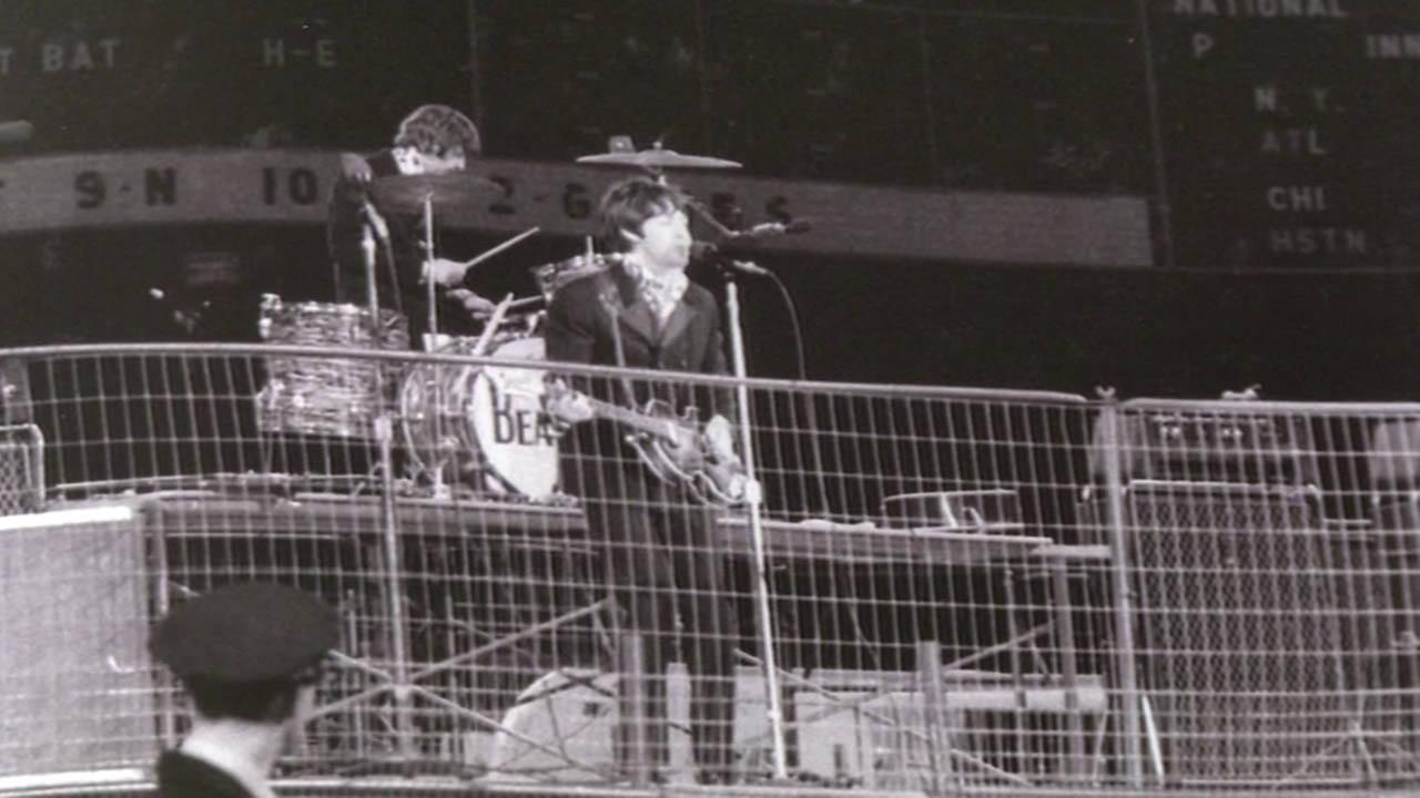 Former ABC7 cameraman Fred Pardini remembers Beatles concert at Candlestick Park.