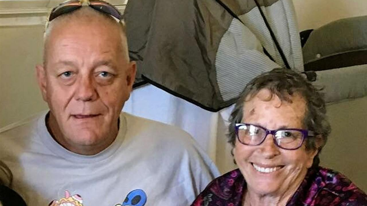 A lawsuit has been filed on behalf of wildfire victims Steve Bruce Stelter and Janet Kay Costanzo, who were found Redwood Valley, Calif. on Oct. 9, 2017.