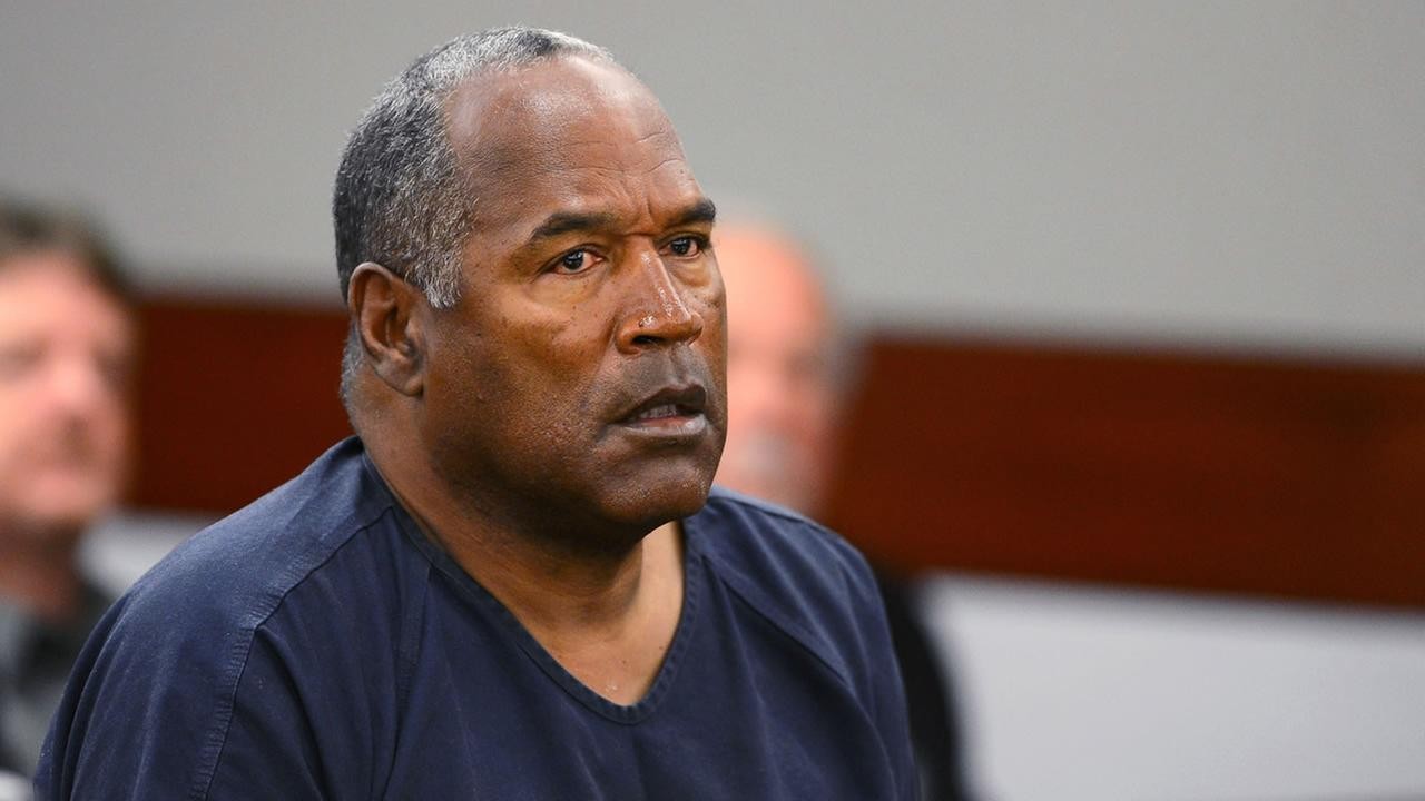 This is an undated image of OJ Simpson in court.