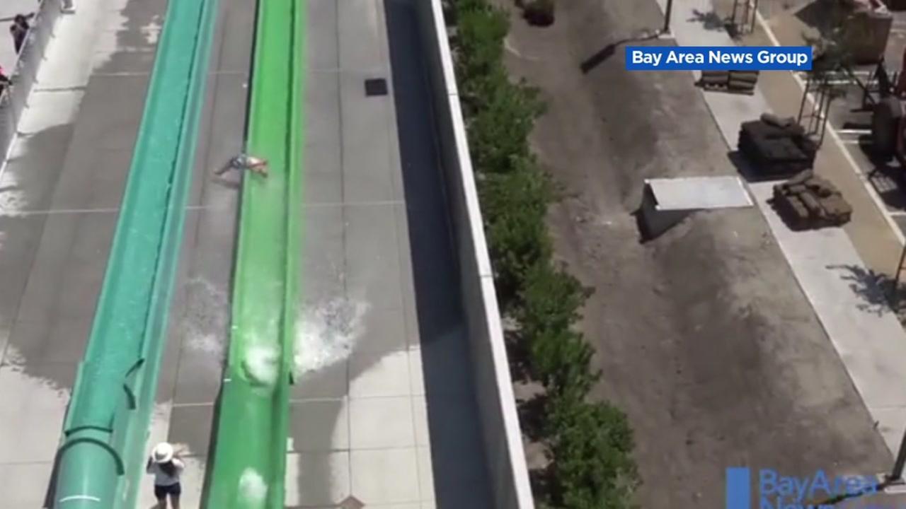 FILE -- Boy injured on waterslide in Dublin, California