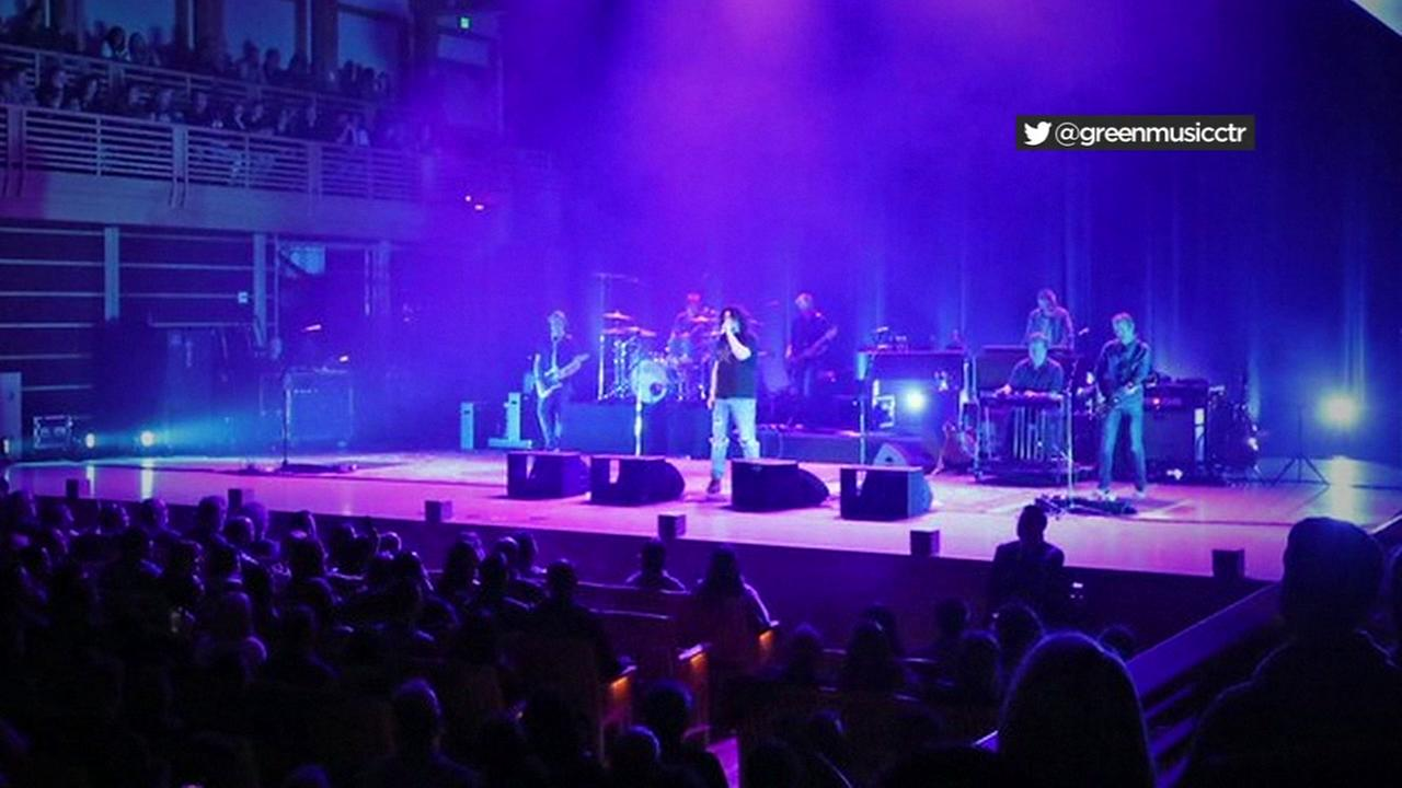 Counting Crows perform at Sonoma State University on Nov. 18, 2017 for North Bay Fire relief in Sonoma, Calif.