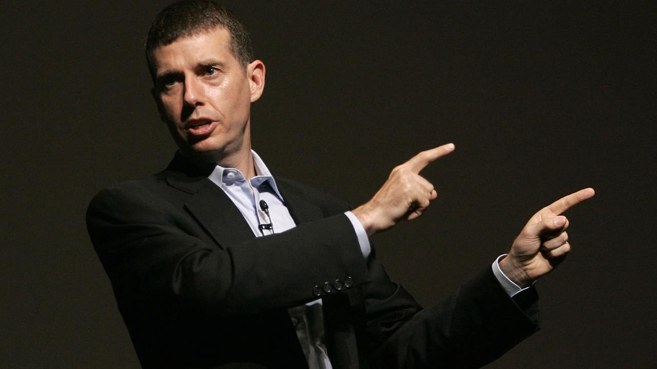 David Plouffe, who led Barack Obamas winning campaign for the White House, speaks in Cannes, France, during the Cannes Lions 2009, 56th International Advertising Festival. (AP Photo/Lionel Cironneau, File)