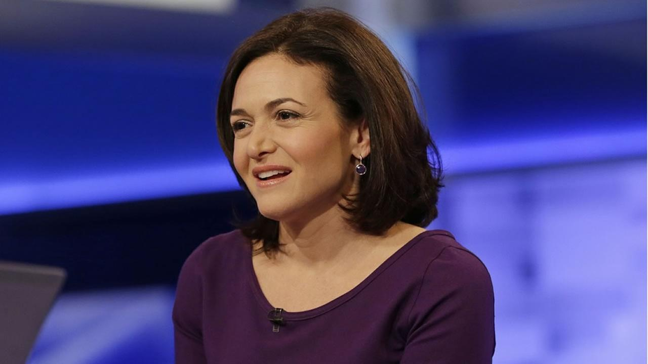 Sheryl Sandberg, chief operating officer of Facebook, responds to questions during a news interview in the file photo. (AP File Photo/Frank Franklin II)