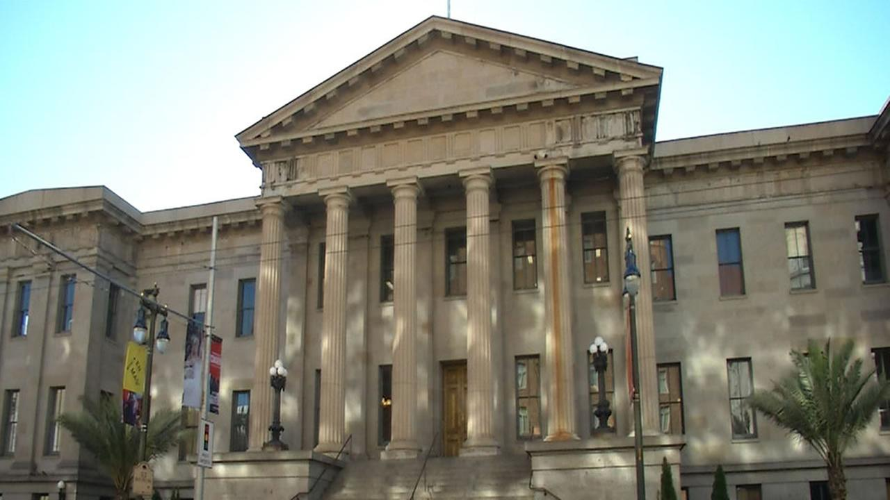 The Old U.S. Mint is pictured in San Francisco in this undated file photo.