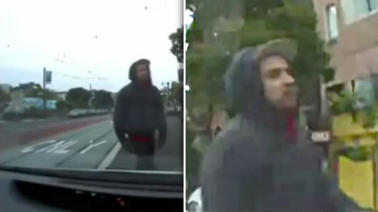 Police have released video footage of a person of interest sought in connection with the deadly beating of a man near SFs Duboce Park.
