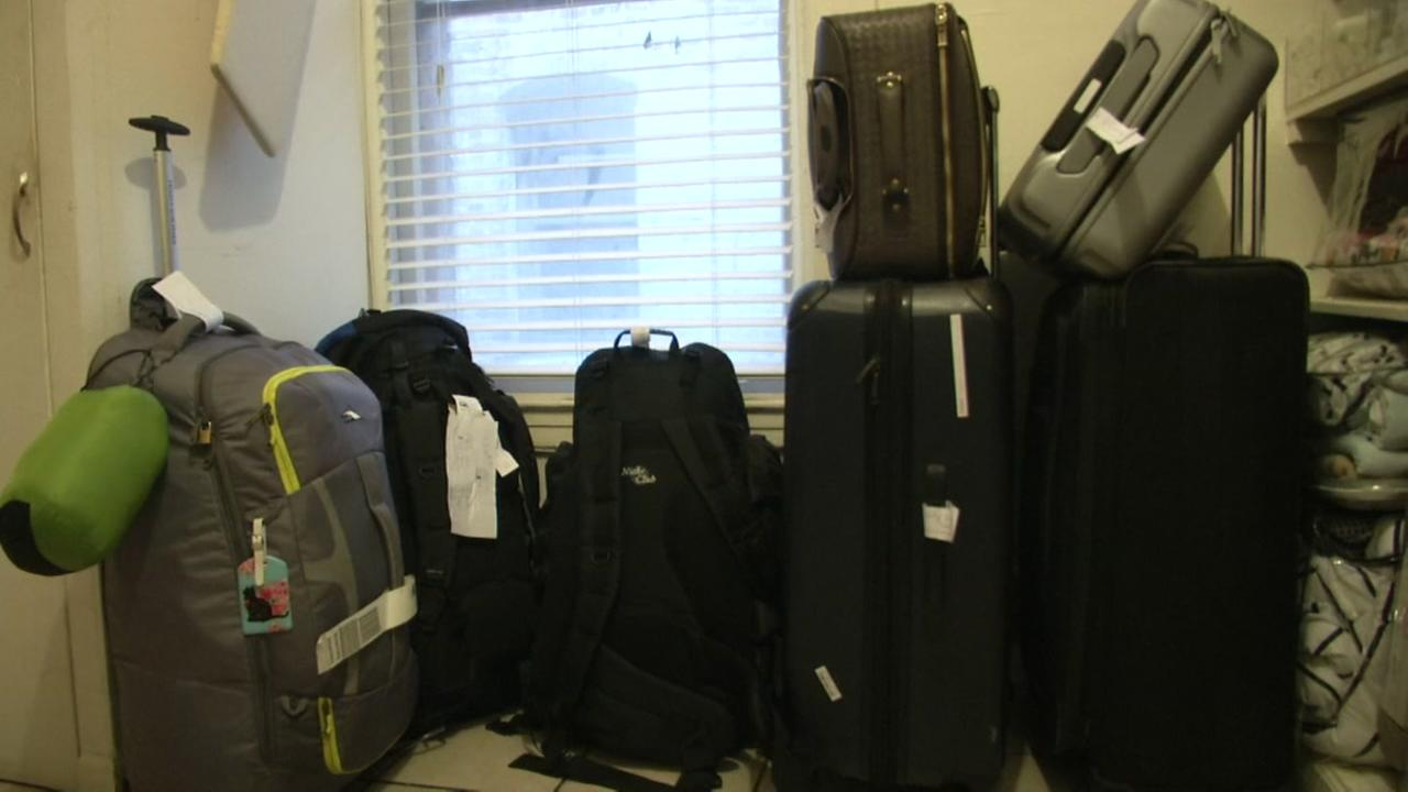 This is an undated image of luggage.